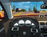 Dodge Charger SRT8 - интерьер