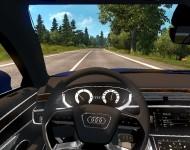 Audi A8 - интерьер