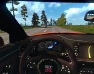 Nissan GT-R - интерьер