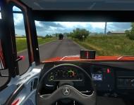 Mercedes-Benz 1634 - интерьер