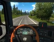 Volvo FM13 - интерьер