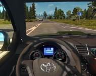 Toyota Hilux - интерьер