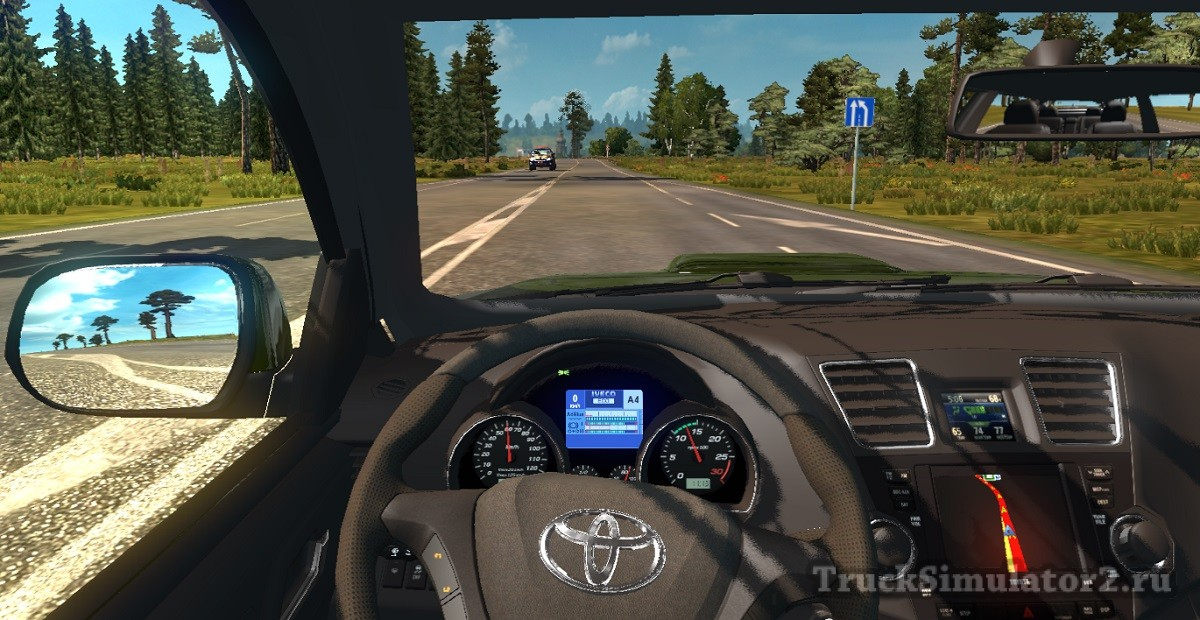 мод на euro truck simulator 2 toyota land cruiser
