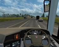 Scania Touring K360 - интерьер
