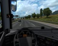 Volvo 9800 - интерьер
