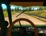 ГАЗ-66 - интерьер салона
