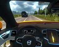 Volvo XC90 - интерьер