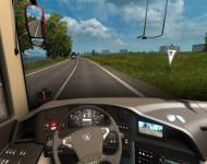 Scania Touring K410 - интерьер
