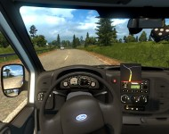 Ford Transit MK6 - интерьер