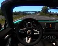 Fiat 124 Spider - интерьер