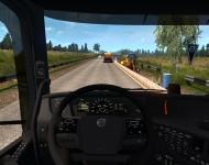 Volvo FMX 8Х4 - интерьер