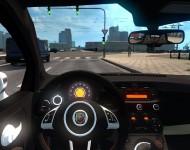 Fiat 500 - интерьер