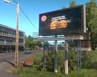 Реалистичная реклама в ETS 2