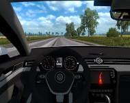 Volkswagen Passat CC / Phaeton - интерьер