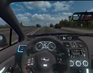Subaru Impreza WRX STi 2017 - интерьер
