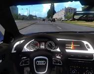 Audi S4 - интерьер