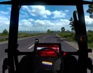 Tractor New Holland - интерьер