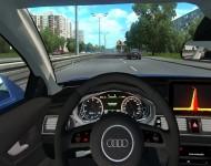 Audi RS7 - интерьер