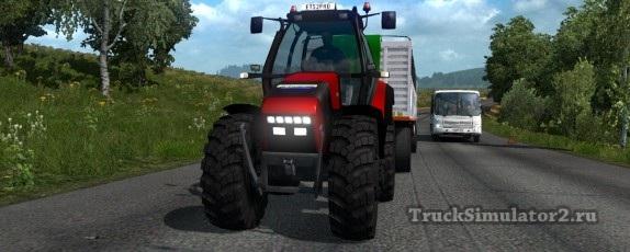 Мод Трактор в ETS 2