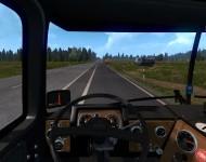 Mack F700 - интерьер