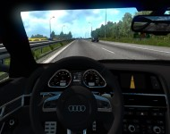 Audi RS6 - интерьер