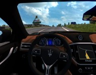 Maserati Ghibli S - интерьер