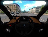 Renault Twizy - интерьер