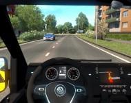 Volkswagen Crafter MK2 - интерьер
