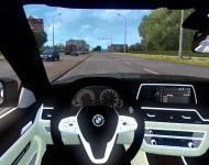 BMW 750Ld - интерьер