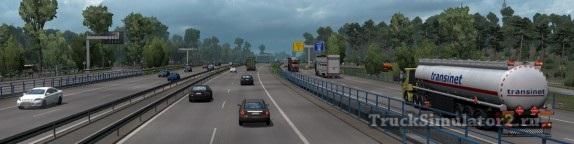 Реалистичная плотность трафика ETS 2