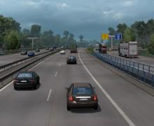Реалистичная плотность трафика в ETS 2