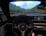 BMW M4 - интерьер