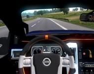 Nissan Titan Warrior - интерьер