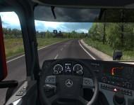 Mercedes-Benz Actros MP4 - интерьер