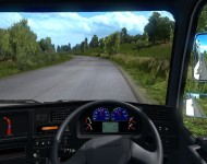 Nissan Diesel Big Thumb - интерьер