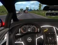 Opel Astra J - интерьер