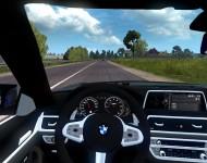 BMW M5 F90 - интерьер