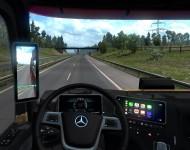 Mercedes-Benz Actros MP5 - интерьер