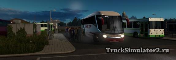 Пассажирский мод для ETS2