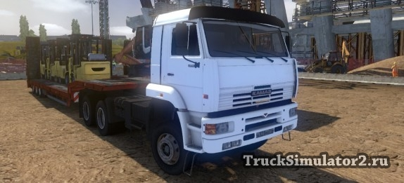 Камаз 5460 для Euro Truck Simulator 2
