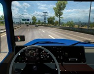 Scania 112H - интерьер