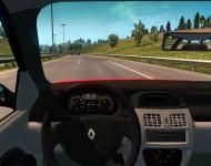 Renault Clio II Sedan - интерьер
