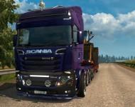 Scania illegal V8