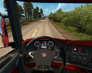 Scania illegal V8 - интерьер