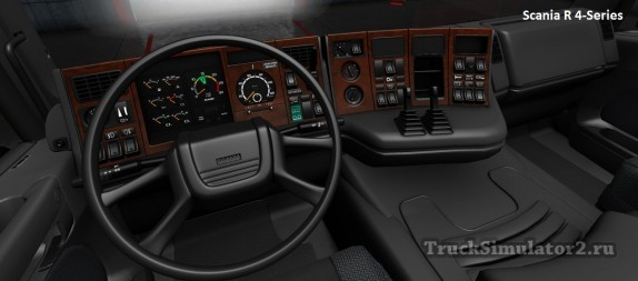 Scania R 4-Series - интерьер