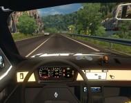 Renault 12 - интерьер