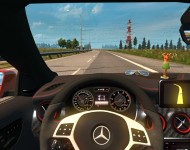 Mercedes-Benz A45 - интерьер