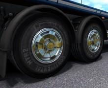 Реалистичные шины трейлера