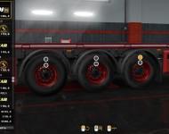 Реалистичные шины для прицепов ETS 2