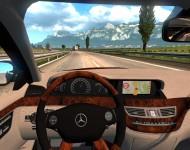 Mercedes-Benz S350 - интерьер